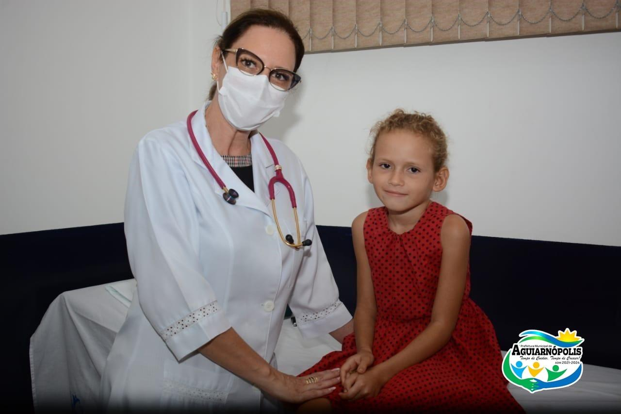 Aguiarnópolis inicia atendimento pediátrico em Unidade de Saúde do Bairro São João Batista